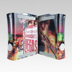 Skin sticker plastic / folie TOM CLANCY'S RAINBOW SIX VEGAS pentru XBOX 360 fat, Huse si skin-uri
