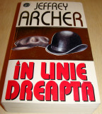 IN LINE DREAPTA - Jeffrey Archer, Rao, 1997