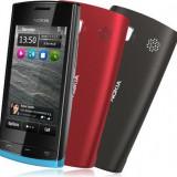 Nokia 500 - Telefon mobil Nokia 500, Negru, 2GB, Neblocat, Single core, 512 MB
