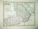 Harta color  Valahia si Moldova  Carlo Pazzini Siena 1790 006