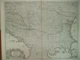 Harta teatrul de razboi al regatului Ungariei cu Transilvania Moldova 1729 041