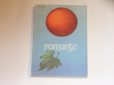 ROMANTE antologie a celor mai frumoase si cunoscute romante, pe note muzicale foto