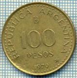 4942  MONEDA  - ARGENTINA  - 100 PESOS  - ANUL  1979  -starea care se vede