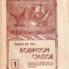 ROBINSON CRUSOE de DANIEL DEFOE NR. 1 - Revista culturale
