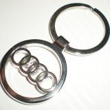 Breloc Cheie Auto Audi Logo Emblema - Breloc Auto