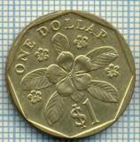 4990  MONEDA  - SINGAPORE  - 1 DOLLAR  - ANUL  1997  -starea care se vede