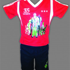 ECHIPAMENT/SET TRICOU+SORT BEN10 - 4CULORI-MARIMI 1-8 ANI - Set echipament fotbal