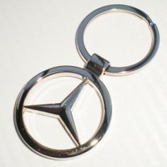 Breloc Cheie Auto MB Mercedes Benz Logo Emblema - Breloc Auto