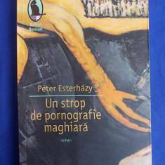 PETER ESTERHAZY - UN STROP DE PORNOGRAFIE MAGHIARA [ INTRODUCERE IN BELETRISTICA ] * ROMAN - BUCURESTI - 2007, Humanitas