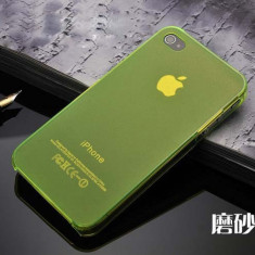 Husa Ultra Thin Apple iPhone 4 4S Mata Green - Husa Telefon