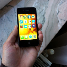 iPhone 4 Apple Neverlocked impecabil, Negru, 8GB, Neblocat