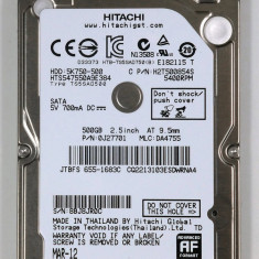 HDD Hitachi 750Gb Laptop 2, 5 sata 3 compatibil sata2 resigilate Hitachi Travelstar - HDD laptop Hitachi, 500-999 GB, Rotatii: 5400, 8 MB