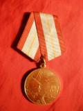 Medalie 60 Ani Fortele Armate URSS 1978  ,h= 8,5 cm, Europa