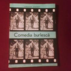 Iordan Chimet Comedia burlesca, editie princeps - Carte Editie princeps
