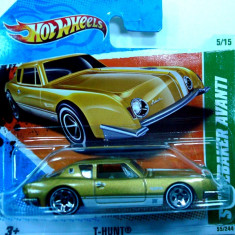 HOT WHEELS -TREASURE HUNT- '57 STUDEBACKER AVANTI-++2501 DE LICITATII !! - Macheta auto Hot Wheels, 1:64