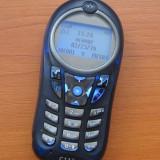 MOTOROLA C115 - telefon simplu, usor de folosit - bateria tine mult - Telefon Motorola, Albastru, Nu se aplica, Neblocat, Fara procesor