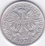 Moneda Polonia 2 Zloti 1974 - KM#46 XF, Europa