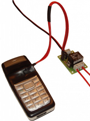 reseteaza sau opreste / porneste switch / router de internet ( sau antena wireless WIFI WLAN directionala )  prin apel telefonic ( GSM ) foto