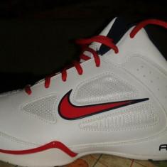 Adidasi nike de vanzare pret negociabil - Ghete barbati Nike, Marime: 39-40, Culoare: Alb, Piele sintetica, 39-40