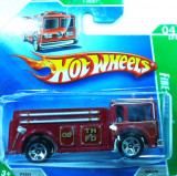HOT WHEELS-TREASURE HUNT-FIRE EATER -++2501 LICITATII !!, 1:64