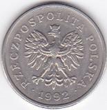 Moneda Polonia 1 Zlot 1992 - KM#282 VF, Europa
