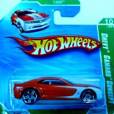 HOT WHEELS -TREAURE HUNT -CHEVY CAMARO CONCEPT ++2501 LICITATII !! - Macheta auto Hot Wheels, 1:64