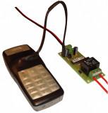 Controleaza de la distanta ( porneste / opreste ) orice aparat electric ( switch router placa retea wireless WIFI modul ) prin apel telefonic GSM