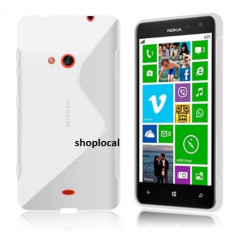 Husa Nokia Lumia 625 silicon transparenta s line tpu -folie -LIVRARE GRATUITA - Husa Telefon