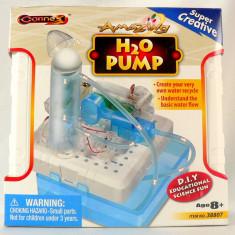 Joc DIY pompa de apa - joc electro-mecanic de construit - Nou - Joc board game