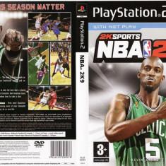 Joc original Nba 2k9 pentru consola PlayStation2 PS2 - Jocuri PS2 Ea Sports, Sporturi, Toate varstele, Multiplayer