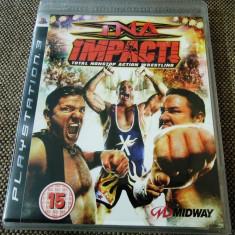 Joc TNA Impact(wrestling), PS3, original, 29.99 lei(gamestore)! - Jocuri PS3 Altele, Sporturi, 16+, Multiplayer