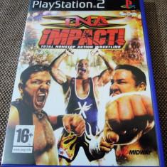 Joc TNA Impact, PS2, original, alte sute de jocuri! - Jocuri PS2 Altele, Sporturi, 16+, Multiplayer