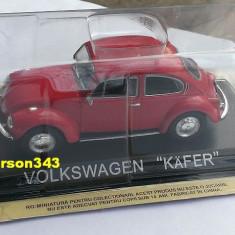 Macheta Volkswagen VW Kafer 1302 LS (Broscuta) - DeAgostini Masini de Legenda