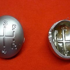 Capac ornament schimbator 5+1 viteze cromat Renault Twingo