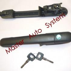 Maner deschidere usa cu butuc si chei Volkswagen LT 35 46 (pt an fab.'95-'06) - Butuc incuietoare, LT II (2DM) - [1996 - 2006]