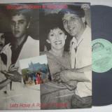 Disc vinil ( vinyl , pick-up ) WANDA JACKSON & KAREL ZICH - Let's have a party in Prague (produs SUPRAPHON Cehoslovacia - in stare foarte buna)
