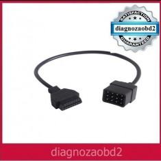 Cablu adaptor tester auto diagnoza Renault  12pini - OBD2 Delphi 2014.2 CDP+