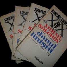Donul linistit/4 vol-Solohov Mihail - Roman