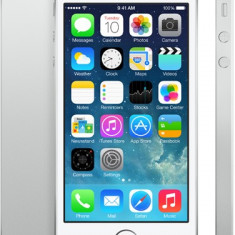 iPhone 5S Apple 16GB white, noi sigilate la cutie neverloked, !PRET:1150lei, Argintiu, Neblocat
