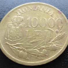 (141) ROMANIA 10000 LEI 1947 REGELE MIHAI