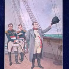 Raphael Tucks+sons-kollektion-colectie- Seria a 7-a Napoleon - Napoleon pe nava, Germania, Necirculata, Printata