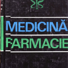 DICTIONAR CRONOLOGIC DE MEDICINA SI FARMACIE de G. BRATESCU, Alta editura