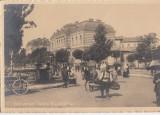 B76136 Bucuresti Spitalul brancovenesc Stampila RARA GARA FRUNZEASCA GALATI 1911