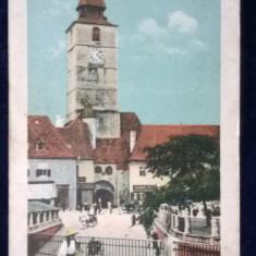Sibiu - Turnul Consiliului - circulata