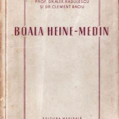 BOALA HEINE-MEDIN de ALEX. RADULESCU si CLEMENT BACIU