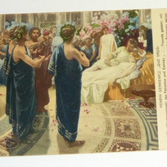 Carte postala - ARTA - Sienkiewicz - QUO VADIS - necirculata Germania, semnata 1915 Brasov - 2+1 gratis toate produsele la pret fix - RBK3969, Europa, Printata