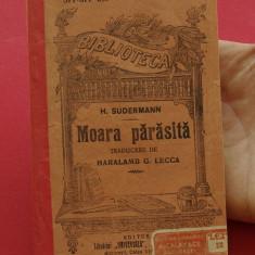 Carte - biblioteca pentru toti - H. Sudermann - Moara Parasita - 120 pagini - Carte veche