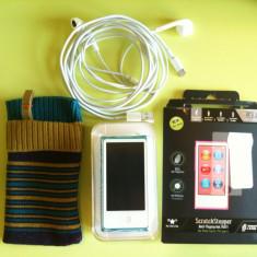 IPod 7G ca si nou (folosit de 2 ori) - iPod Nano Apple, 7th generation, 16 Gb, Albastru