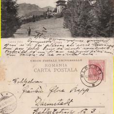 Sinaia (clasica) - Castelul Peles -1900