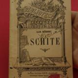 Carte - biblioteca pentru toti - Lia Harsu - Schite - 95 pagini - Carte veche